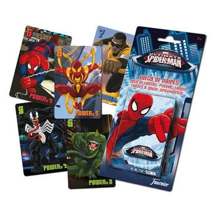 Baraja Infantil Ultimate Spider-Man - Fournier