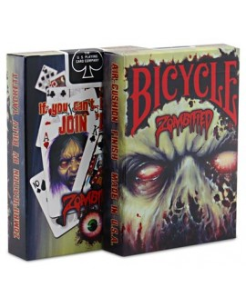 Baraja Poker Zombified - Bicycle