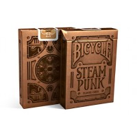 Baraja Poker Steampunk Bronze - Bicycle