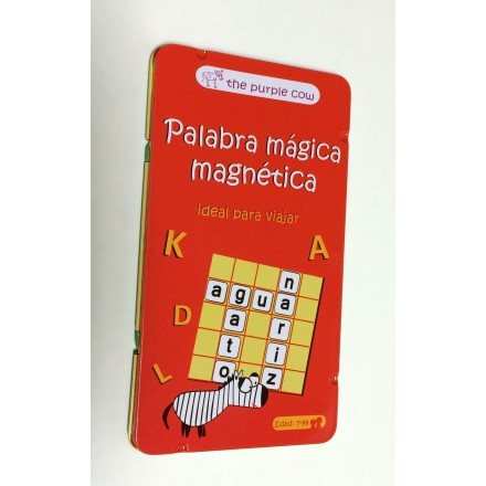 Palabra mágica magnética - The purple cow-Fournier