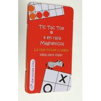 Tic tac toe + 4 en raya - The purple cow-Fournier