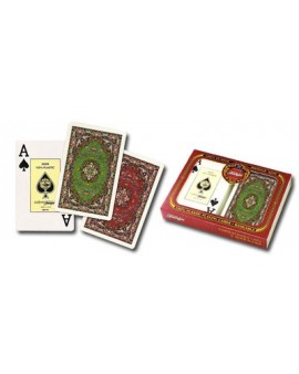 Baraja Poker Doble Alfombras - Fournier