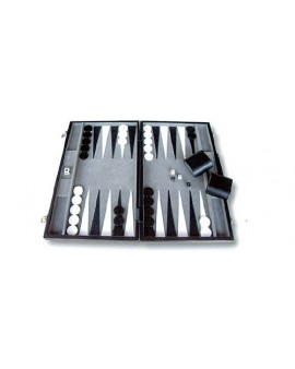 Backgammon Profesional Simil Piel - Aquamarine