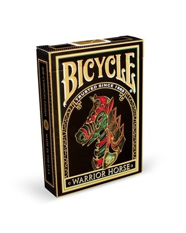 Baraja Poker Warrior Horse - Bicycle