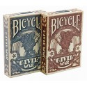 Baraja Poker Civil War - Bicycle