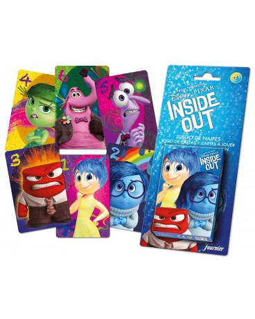 Baraja infantil Inside Out de Disney Pixar - Fournier