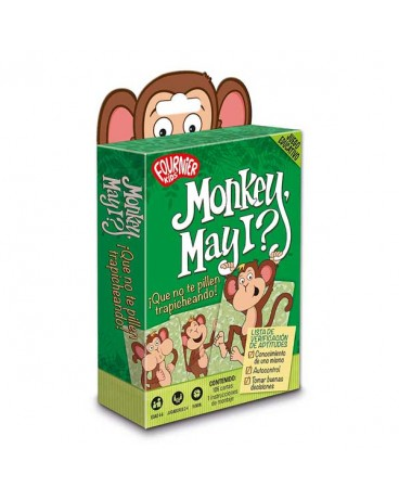 Monkey May I? Juego educativo - Fournier